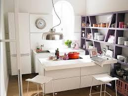 White Kitchen Cabinets And Island Design, Small Kitchen Decor Ideas