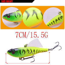 2019 Winter Ice Vibration Fishing Lure 7cm 15g Hake Bait With Lead Inside Sea Hard Diving Swivel Jig Wing Wobblers Crankbait From Jerry006 Price