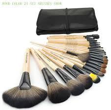 2016 professional makeup brushes 24pcs set 3color brushes set tools portable full cosmetic brush tools kits