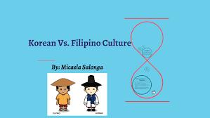 Philippine Languages Comparison Chart Korean Vs Filipino Culture By Micaela Salonga On Prezi