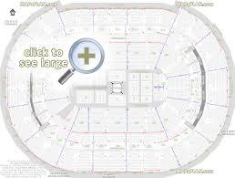 Caps Arena Seating Chart Washington Dc Verizon Center Seat Numbers Detailed Seating