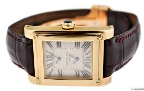 mens cartier tank avis platinum white gold manual mechanical try watching this video on com or enable javascript if it is disabled in your browser