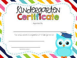 Kindergarten Graduation Diplomas Magdalene Project Org