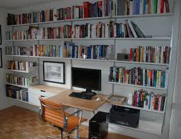 shelving systems for home office. Interesting Rakks Shelving With Small Desk And Comfortable Office Chair Plus Cozy Pergo Flooring For Systems Home