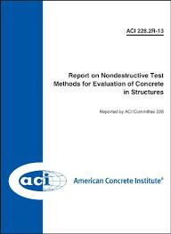 Evaluation Report Gorgeous Amazon ACI 4444R44 Report On Nondestructive Test Methods For