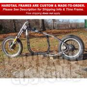sportster 1982 2003 hardtail frame by david bird