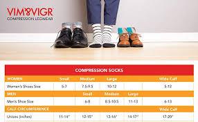 Vim Vigr Womens 20 30 Mmhg Compression Socks Work To Play Stripe Plum Mauve Nylon