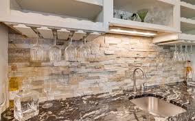 wine glass storage under counter