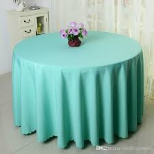 63 tablecloth table cover round satin for banquet wedding party decoration supplies dhl round plastic tablecloths picnic tablecloth from weddingjunyan