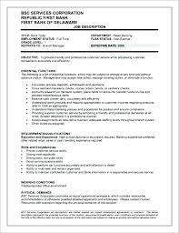 Cashier Skills And Responsibilities Resume Skill Descriptions For