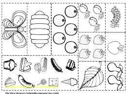 Hungry Caterpillar Coloring Pages Cool The Very Hungry Caterpillar