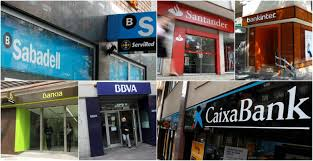 Resultado de imagen de Beneficio de los 5 grandes bancos en 2017