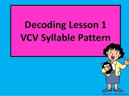 Vcv Pattern Mesmerizing Decoding VCV Unit 48 Lesson 48