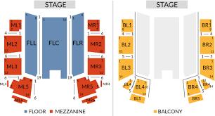 Act Theatre Seating Chart Fallsview Casino Resort Entertainment Seating Chart