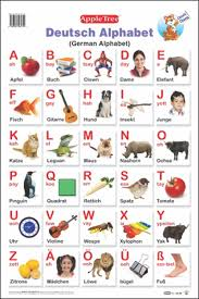 German Alphabet Chart Buy Educational Charts German Alphabet Book Online At Low