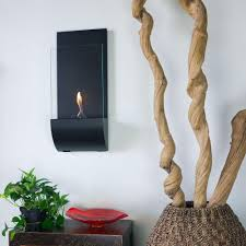 nu flame torcia 11 75 in wall mount decorative bio ethanol fireplace in