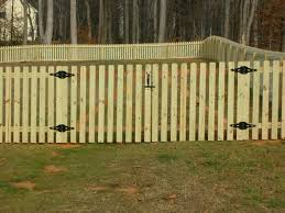 picket fence with gates