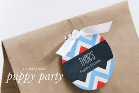diy doggie party bags puppy party