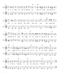 The song of the righteous is a prayer unto me, and it shall be answered with a blessing upon their heads. d&c 25:12 Christmas Violin Duets Free Sheet Music For Violin Meadowlark Violin Studio