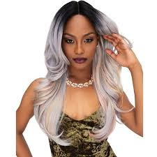 Janet Collection Wig Color Chart Janet Collection Synthetic Deep Part Color Me Lace Front Wig Pretty
