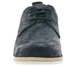 las suede leather shoes blue 010758 larger image