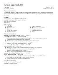 Examples Of Nursing Resumes – Orgullolgbt