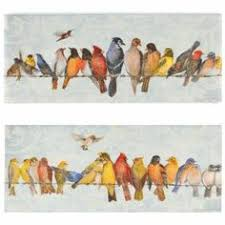 bed bath beyond fabrice de villeneuve studio small talk wall art on shopstyle birds pinterest small talk on birds on wire canvas wall art with bed bath beyond fabrice de villeneuve studio small talk wall art