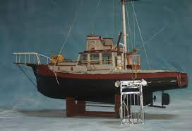 The Orca Boat From Jaws Model Boats Boat Model Ships