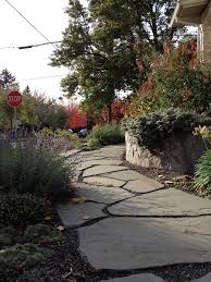 Small Picture Full Season Color for a No Lawn Entry Garden Landscape Design In