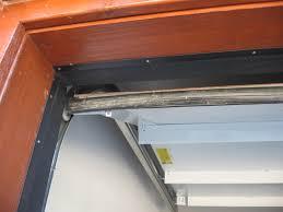 image of garage door seals placed