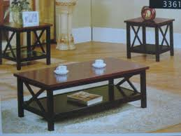 3361 coffee table 2 end tables set furniture