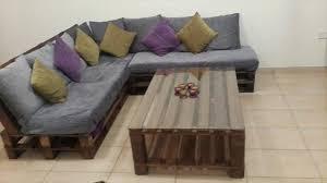 diy living room furniture. Diy Pallet Living Room Furniture Set