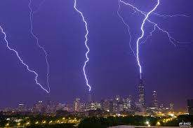 chicago triple lightning strike
