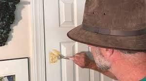 hole repair how to fix a broken door
