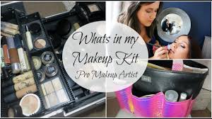 whats in my makeup kit professional makeup artist