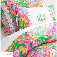 lilly pulitzer dresses lilly pulitzer multi lulu duvet cover bedding