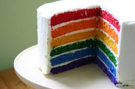 birthday cake slice rainbow. Delighful Birthday Yesterday I Showed You A Big Fat Slice Of Rainbow Cake And Didnu0027t Give  The Recipe How Rude For Birthday Slice