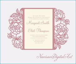 Elegant Editable Wedding Invitation Cards Free Download Wedding Ideas