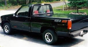 hooniverse obscure muscle car garage the 1990 93 chevrolet 1990 chevrolet c k 1500 454 ss 2wd pic 4621698972090806444