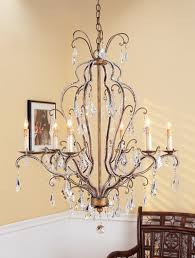 currey company vienna 6 light chandelier in rhine gold swarovski crystal 9826 photo