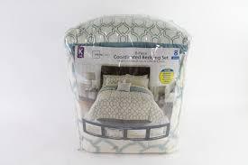 mainstays 8 piece coordinated bedding set king