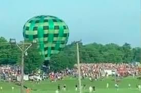 Hot air balloon crash at Missouri festival causes minor injuries - UPI ...