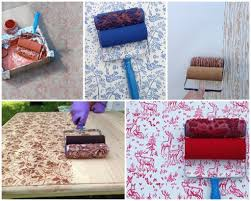 How to paint walls with beautiful patterns step by step DIY tutorial  instructions. >>