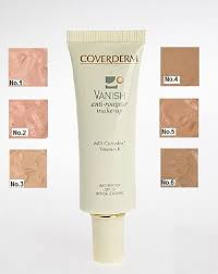 Coverderm Vanish Anti Redness Make Up All The Shades