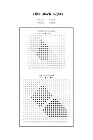 Bloch Dance Booties Size Chart