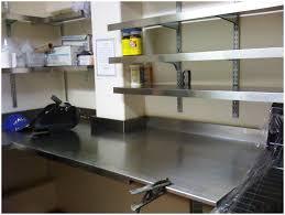 Kitchen Racks Stainless Steel Ikea Stainless Steel Kitchen Shelf Ekby Mossby Ekby Bjarnum Wall