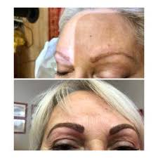 photo of beauty marks permanent makeup sacramento ca united states before eyebrow