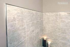 metal backsplash edge trim ideas tile edging stainless steel for tiles outside corner with regard to