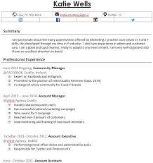 Pr Cv Template Recruiters Cv Templates