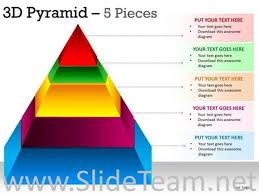 Pyramid Powerpoint Segmented Colorful Pyramid Ppt Graphic Powerpoint Diagram